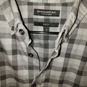 Banana Republic Luxe Flannel Slim Fit Shirt